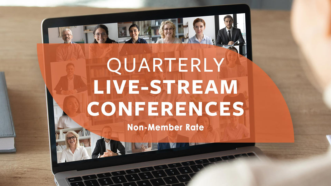 Quarterly IACDP Virtual Conference(s) Registration | LIVE-STREAM (Non-Member Rate)