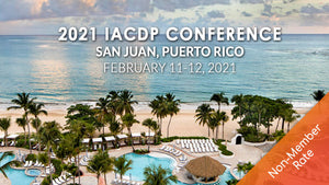 (pending) 2021 IACDP Conference Registration | ON-SITE in San Juan, Puerto Rico (Non-Member Rate)