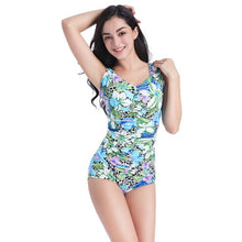 Load image into Gallery viewer, Postoperative Swimsuit Prosthetic Breast Swimsuit Conjoined Swimsuit Prosthetic Breast Conservative Hot Spring Body Shaper