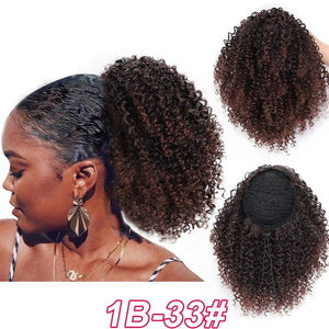 Vigorous Afro Kinky Curly Hair Extension