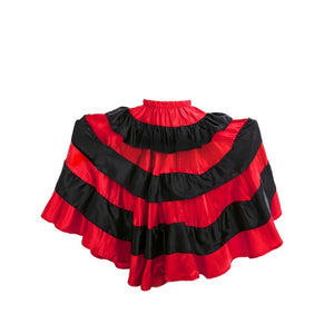 Traditional Spanish Red Flamenco Skirt