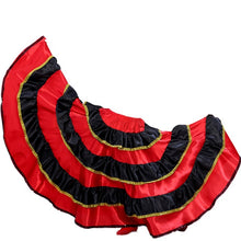 Load image into Gallery viewer, Traditional Spanish Red Flamenco Skirt