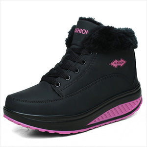 Women's Platform Creeper Boots- a Sneaker and a Boot in One