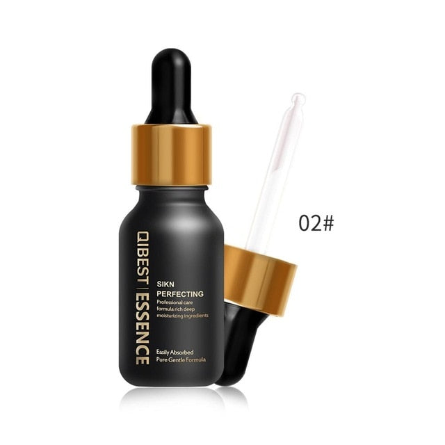 QIBEST Pre-makeup Liquid Essence Firming Anti-aging Makeup Smooth Foundation Moisturizing Face Serum Primer Brighten Skin Care