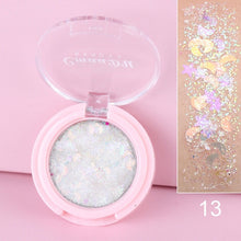 Load image into Gallery viewer, Shimmer Eye Glitter Eyeshadow Makeup Face Jewels Pigment Body Glitter Sequin Gel Cream Eyes Make Up Shiny Stickers Eye Shadow