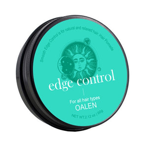 Hair Edge Control Gel Hair Oil Wax Cream Hair Styling Cream Curls Control Long-lasting Broken Hair Finishing Anti-Frizz Balm
