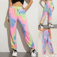 Load image into Gallery viewer, Tie Dye Printed Sweatpants