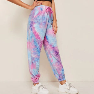Tie Dye Printed Sweatpants