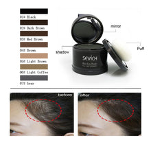 Load image into Gallery viewer, Water Proof hair line powder in hair color Edge control Hair Line Shadow Makeup Hair Concealer Root Cover Up Unisex Instantly