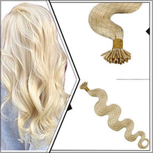 Load image into Gallery viewer, Ugeat I Tip Keratin Pre bonded Human Hair Extensions hair extensions