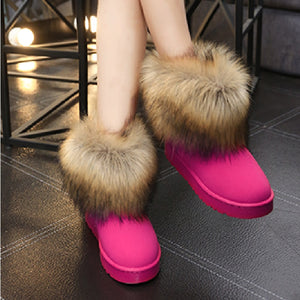 Women's Furry Snow Boots