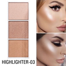 Load image into Gallery viewer, SACE LADY Highlighter Palette Makeup Contour Powder Matte Face Bronzer Make Up Pigmented Blusher Pallete Cosmetics Wholesale