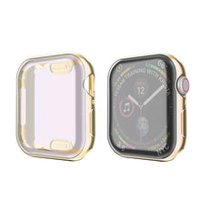 Load image into Gallery viewer, Watch Cover case For Apple Watch series 6 5 4 3 2 1 case 42mm 38m 40mm 44mm Slim TPU case Screen Protector for iWatch 6 5 4 44mm