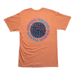 Load image into Gallery viewer, Peace Swirl Tee Terracotta