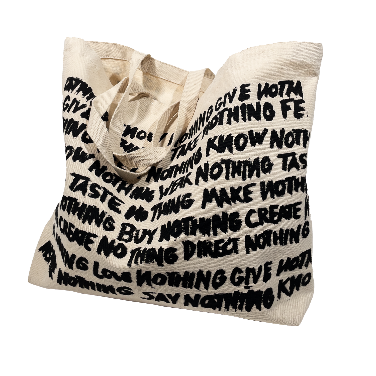 Big Nothing Jumbo Tote Bag