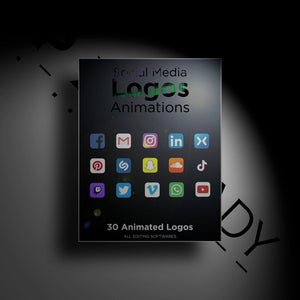 Open image in slideshow, Social Media Icons Animations - PXL READY