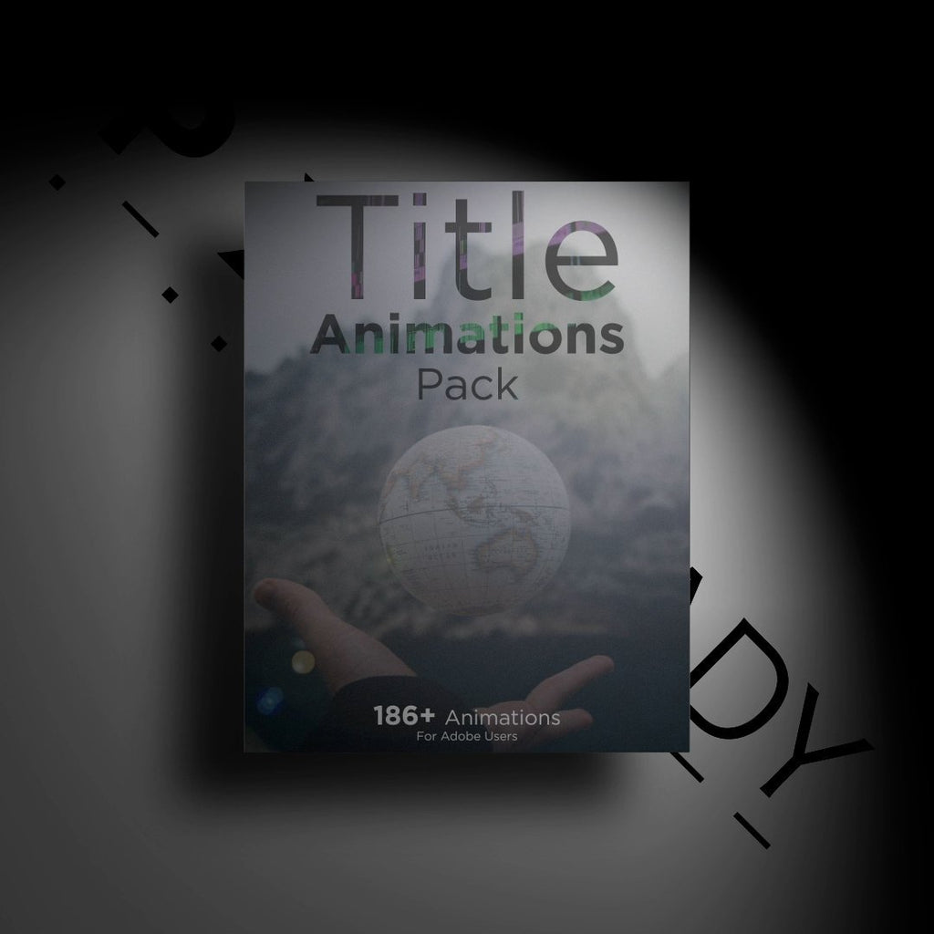 Title Animations Pack - PXL READY