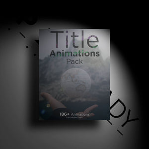 Open image in slideshow, Title Animations Pack - PXL READY