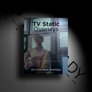 Open image in slideshow, TV Static Overlays - PXL READY