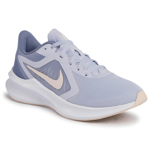 Nike Women's Downshifter 10 Road Running Shoes- Ghost/ Guava