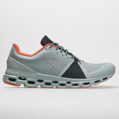 ON Men's Cloudstratus Road Running Shoes-Cobble/Ivy