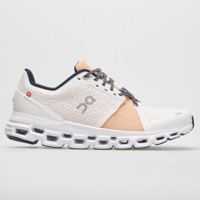 On Cloudstratus Women's-White/Almond