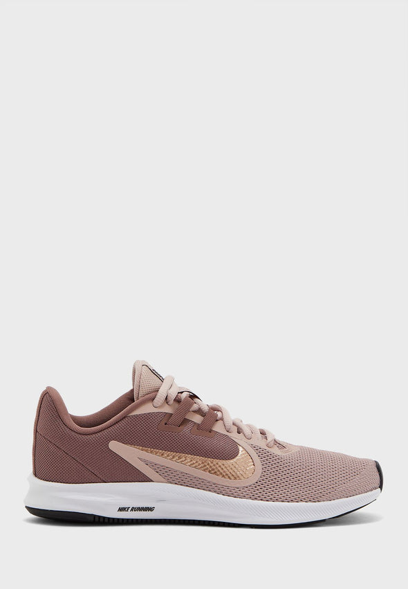 Women's Nike Downshifter 9 AQ7486 200 Smoke Mauve/Mtlc Red Bronze