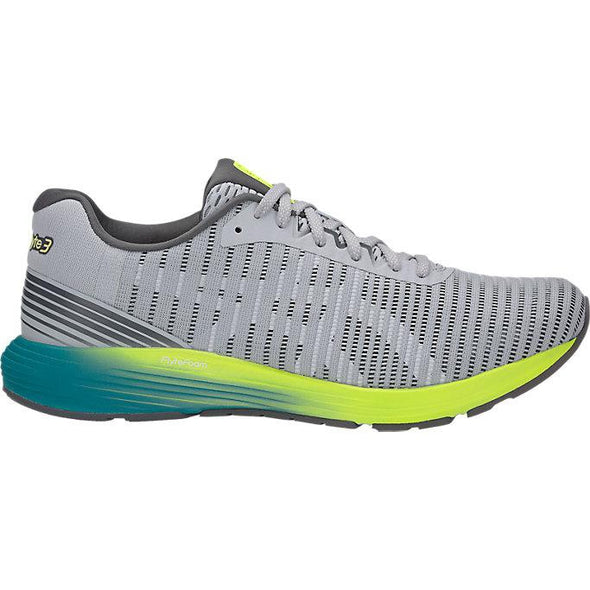 ASICS Men's Dynaflyte 3 Road Running Shoes-Mid Grey/White