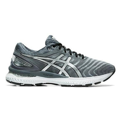 Men's Gel-Nimbus 22 Platinum Road Running Shoes-Carrier Grey/Pure Silver