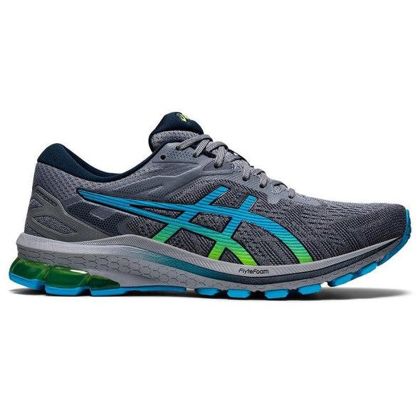 Men's GT-1000 10 Road Running Shoes-Sheet Rock/Hazard Green