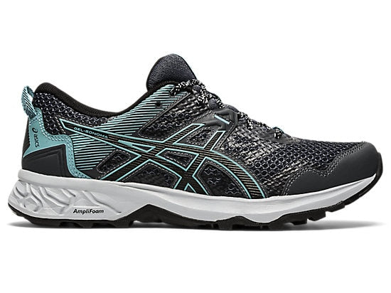 ASICS Women's Sonoma 5 Trail Running Shoes-Carrier Grey/Black