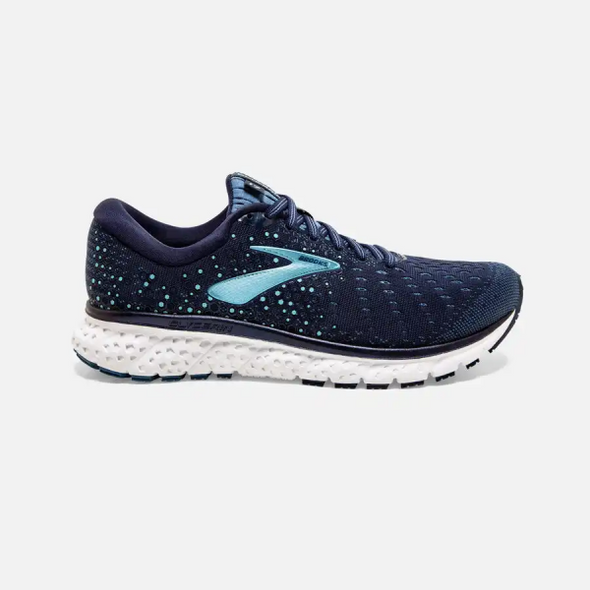 WOMEN'S BROOKS GLYCERIN 17-NAVY STELLAR BLUE