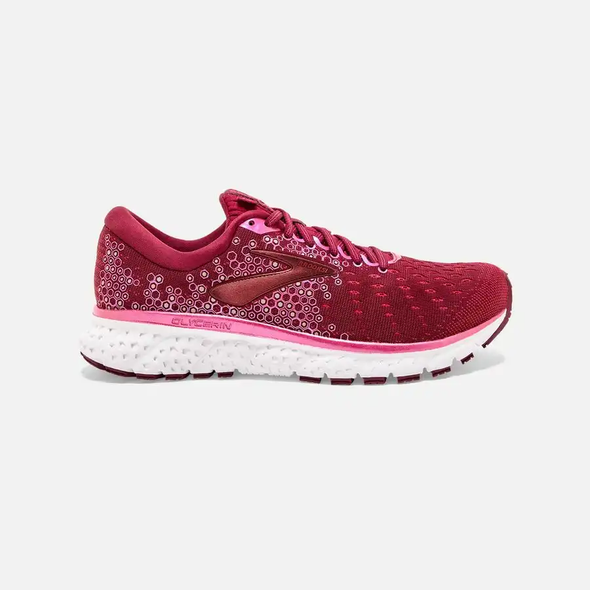 WOMEN'S BROOKS GLYCERIN 17-PINK/WHITE SHOE