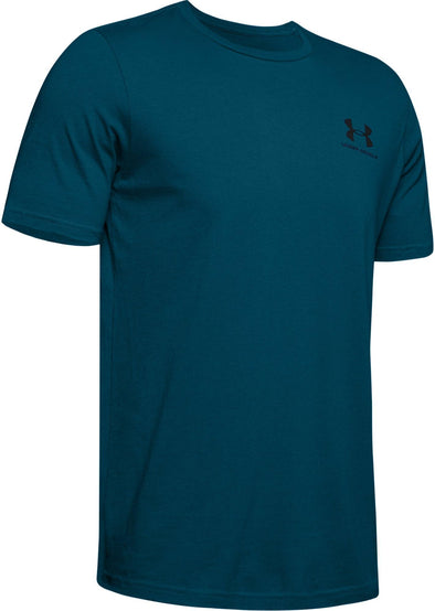 Under Armour Men's  Sportstyle LC Back Tee-Teal