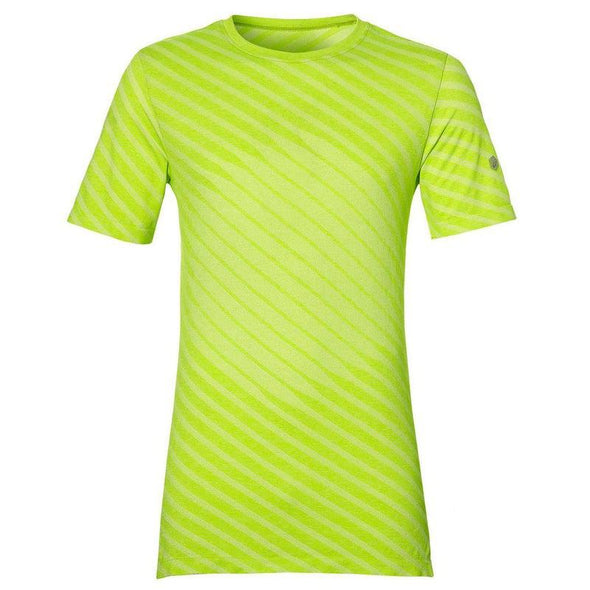 Asics Men's Seamless SS Top-Bright Yellow