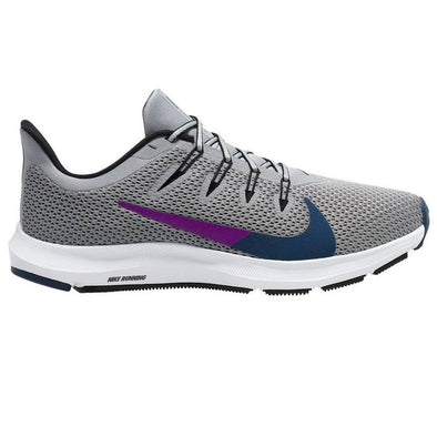 Nike Women's Quest 2 Road Running Shoes-Light Smoke Grey/Valerian Blue
