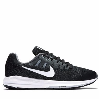 Women's Nike Air Zoom Structure 20 -Black/Cool Grey-Wolf Grey-White