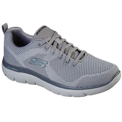 Skechers Men's Summits Road Walking Shoes-Light Grey