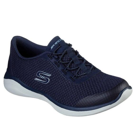 Skechers Women's Envy Road Athleisure Shoes-Navy