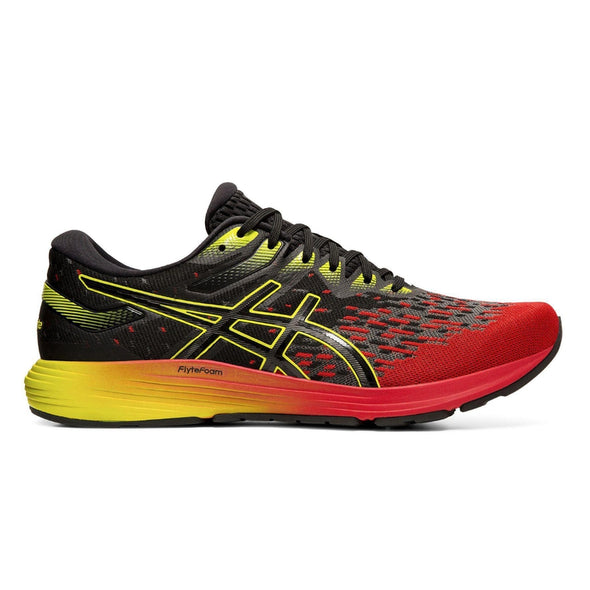 MEN'S ASICS DYNAFLYTE 4 RED/YELLOW SHOE