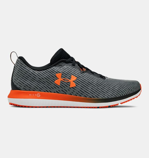 Under Armour Men's Micro G Blur 2 Road Running Shoes-Black