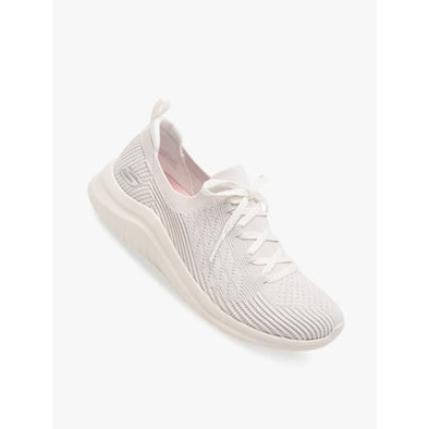 Skechers Women's Ultra Flex 2.0  Road Walking Shoes-OffWhite