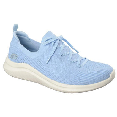 Skechers Women's Ultra Flex 2.0  Road Walking Shoes-LightBlue
