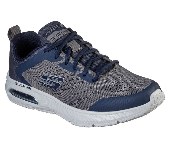 Skechers Men's Dyna-Air Road Athleisure Shoes-Navy/Charcoal