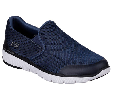 Skechers Men's Flex Advantage 3.0 Road Athleisure Shoes-Navy/Black