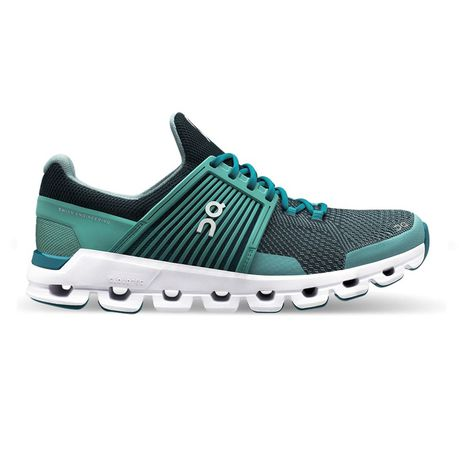 ON Women's Cloudswift Road Running Shoes-Teal/Storm