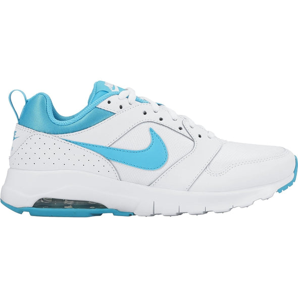 Nike Women's Air Max Motion Road Athleisure Shoes-White/Gamma Blue
