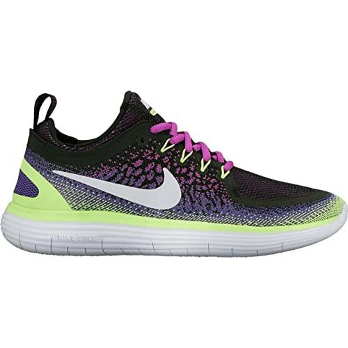 Nike Women's Free RN Distance 2 Road Running Shoes-Hyper Violet/White/Dark Iris/Ghost