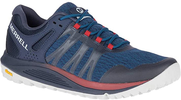 Merrell Men's Nova Trail Running Shoes-Sailor