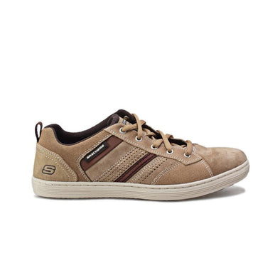 Skechers Men's Evolve Sorino Road Walking Shoes-Tan